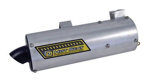 Black Exhaust Muffler Silencer for Polaris Sportsman 500 4X4 HO 2001-2013